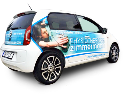 Physiotherapie Zimmermann Mobil unterwegs